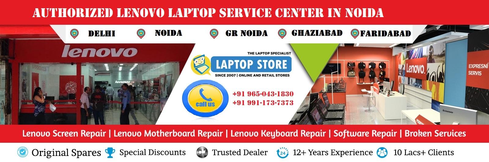 Lenovo authorized service center in Noida